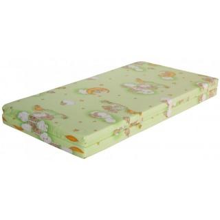 Hrací deka - Scarlett Mráček do ohrádky Klára - zelená, 140 x 130 cm