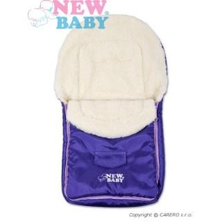 Zimní fusák New Baby Classic Wool violet Fialová