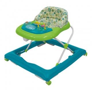 Dětské chodítko Baby Mix blue-green Modrá