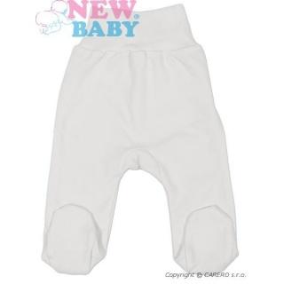 Kojenecké polodupačky New Baby Classic Bílá 62 (3-6m)