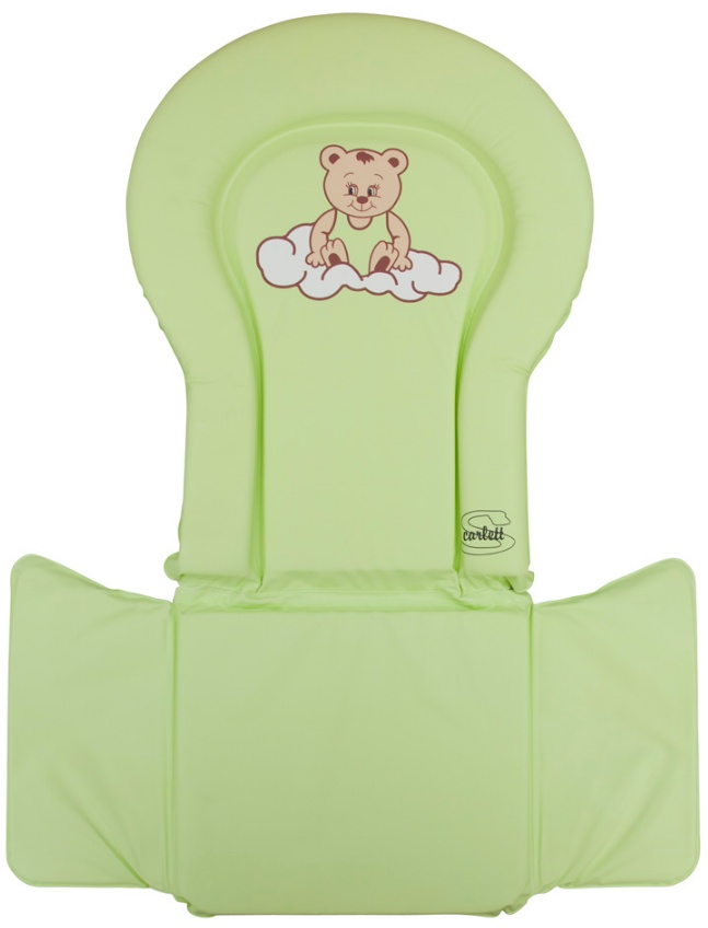 PVC vložka do židliček - Scarlett kombi - zelená
