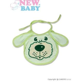 Dětský bryndák New Baby zelený Zelená