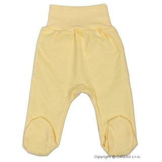 Kojenecké polodupačky New Baby žluté Žlutá 80 (9-12m)