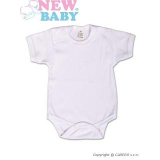 Body krátký rukáv New Baby Classic Bílá 50