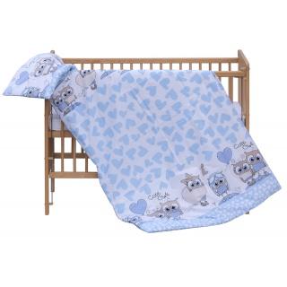 Dětské povlečení 2dílné Scarlett Kulíšek - modrá 100 x 135 cm