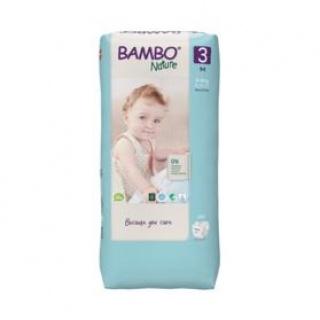 BAMBO Nature Pleny jednorázové 3 Tall, 52 ks, 4-8 kg