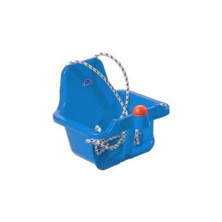 Houpačka s pískátkem modrá světlá Modrá