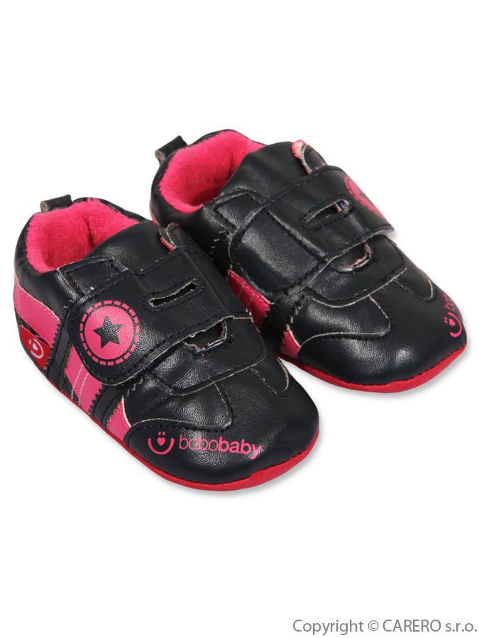 Dětské capáčky Bobo Baby 12-18m černé Černá 86 (12-18 m)