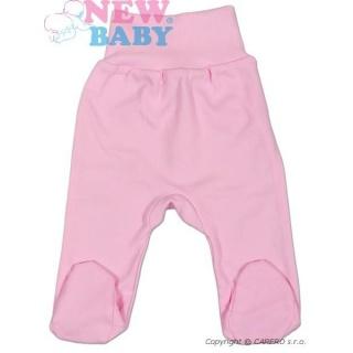 Kojenecké polodupačky New Baby Classic Růžová 56 (0-3m)