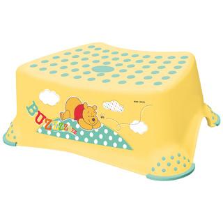 PRIMABABY Stupínek k umyvadlu a WC, Winnie Pooh, žlutá