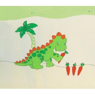 Souprava do postýlky 4dílná - Scarlett Dráček - zelená 90 x 120 cm