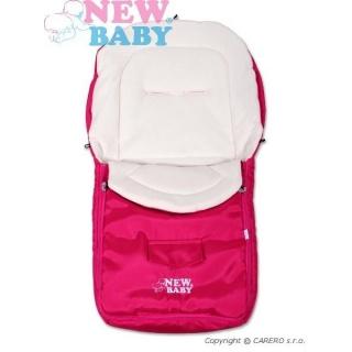 Zimní fusák New Baby Classic Fleece pink Růžová