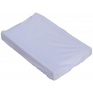 Prostěradlo na přebalovací podložku nebo matraci do kolébky či koše  - bílá 85 x 55 cm
