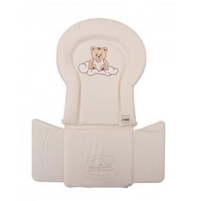 Scarlett PVC vložka do židliček  kombi - béžová