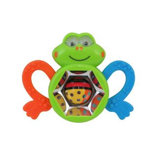 Dětské chrastítko Baby Mix žabka Dle obrázku