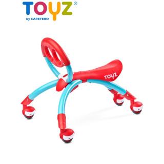 Dětské jezdítko 2v1 Toyz Beetle red Červená