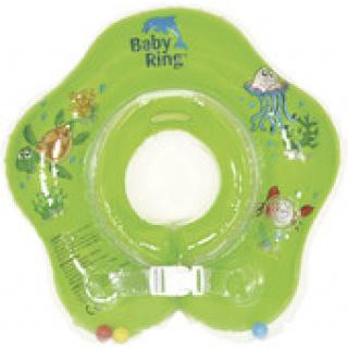 Babypoint koupácí kruh Baby Ring 0 - 24 m zelená
